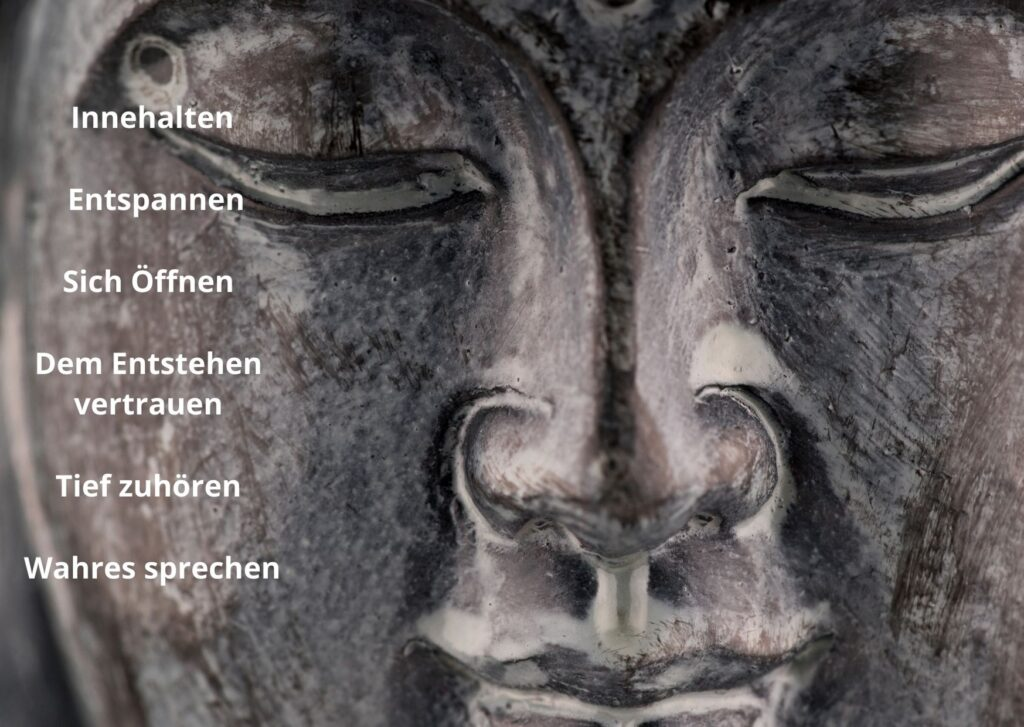 Einsichtsdialog Buddhismus Meditationsrichtlinien